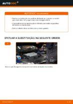 Substituir Calços de travão dianteiro e traseira VW PASSAT: tutorial online