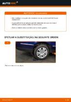Mudar Jogo de rolamentos de roda traseira e dianteira VW faça você mesmo - manual online pdf