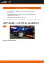 Kuidas vahetada tagumise suspensiooni amortisaatoreid autol VW Passat Variant 3C5
