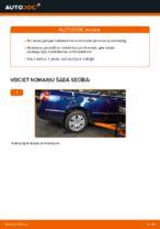 VW PASSAT Variant (3C5) Amortizators uzstādīšana - soli-pa-solim pamācības