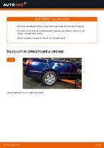 Cum se înlocuiesc amortizoarele suspensiei din spate a autovehiculului VW Passat Variant 3C5