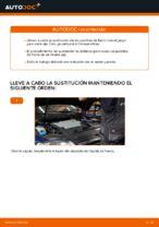 Cómo sustituir las pastillas de freno de discos trasero en VW Passat Variant 3C5