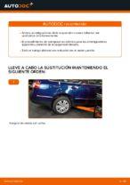 Cómo cambiar los amortiguadores de suspensión trasera en VW Passat Variant 3C5