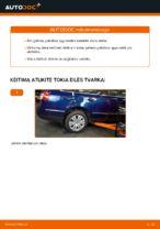 Montavimo Spyruoklės VW PASSAT Variant (3C5) - žingsnis po žingsnio instrukcijos