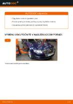 Ako vymeniť čapy tiahla na VW Passat Variant 3C5