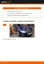 Jak vyměnit čepy táhla na VW Passat Variant 3C5