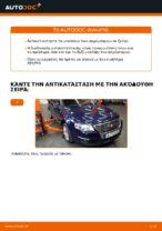 Πώς αντικαθιστούμε μπαλάκια ακρόμπαρου σε VW Passat Variant 3C5