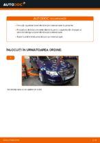 Cum se înlocuiesc capetele barei de direcție transversale pe VW Passat Variant 3C5