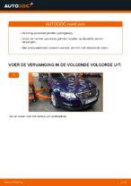 Hoe u de spoorstangeinden van een VW Passat Variant 3C5 kunt vervangen