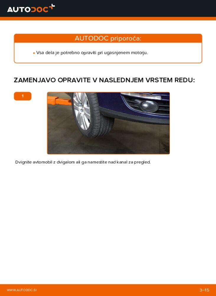 Kako izvesti menjavo: Rebrasti jermen na 2.0 TDI Passat 3c