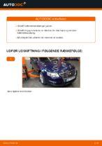 Hvordan udskiftes styreledene på VW Passat Variant 3C5