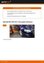 Hur man byter en främre stabilisatorlänk på VW Passat Variant 3C5