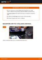 Hur man byter ut en främre bromsskiva på VW Passat Variant 3C5