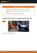 Ako vymeniť prednú vzperu stabilizátora na VW Passat Variant 3C5