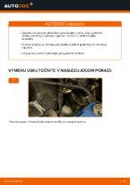 Ako vymeniť predné brzdové platničky kotúčovej brzdy na VW Passat Variant 3C5