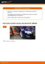 Substituição Bieleta de barra estabilizadora VW PASSAT: pdf gratuito