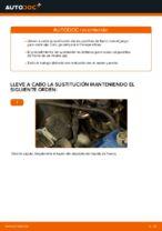 Cómo cambiar las pastillas de freno de discos delantero VW Passat Variant 3C5