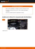 Menjava zadaj in spredaj Blažilnik VW naredi sam - navodila pdf na spletu