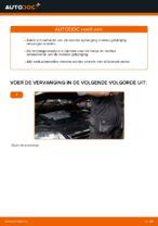 Hoe de voorste veren van de ophanging van een VW Passat Variant 3C5 vervangen