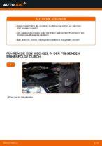 VW Stoßdämpfer Satz Gasdruck selber wechseln - Online-Anweisung PDF