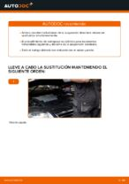Cómo cambiar los resortes de suspensión delantera en VW Passat Variant 3C5