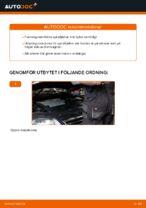 Så byter du främre bärfjädrar på VW Passat Variant 3C5