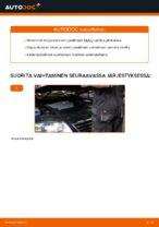 Kuinka vaihdat joustintuet VW Passat Variant 3C5-autoon