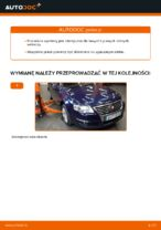 Jak wymienić dolne ramię w przednim niezależnym zawieszeniu w VW Passat Variant 3C5
