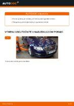 Ako vymeniť spodné rameno predného nezávislého zavesenia kolies na VW Passat Variant 3C5