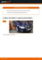 Jak vyměnit a regulovat Řídící páka zavěšení kol VW PASSAT: průvodce pdf