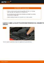 Cambio Pastilla de freno delanteras y traseras FORD bricolaje - manual pdf en línea