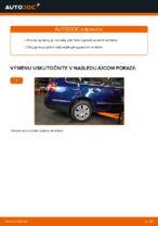 Ako vymeniť spodne trojuholníkové rameno zadného nezávislého zavesenia kolies na VW Passat Variant 3C5