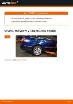 Jak vyměnit spodně trojúhelníkové rameno zadního nezávislého zavěšení kol na VW Passat Variant 3C5