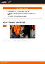 Eļļas filtrs maiņa: pdf instrukcijas FORD MONDEO