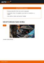 Automehāniķu ieteikumi HONDA Honda Insight ZE2/ZE3 1.3 Hybrid (ZE2) Stikla tīrītāja slotiņa nomaiņai
