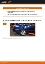 Hoe u de onderste wieldraagarm van de onafhankelijke achterwielophanging van een VW Passat Variant 3C5 kunt vervangen