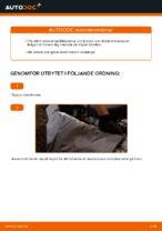 MAHLE ORIGINAL 70539466 för FORD, MAZDA, VOLVO   PDF instruktioner för utbyte