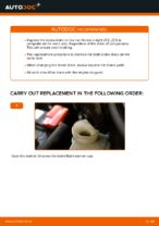 DIY manual on replacing Brake disc kit HONDA INSIGHT (ZE_)