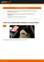 Piduriklotsid vahetus: pdf juhend HONDA INSIGHT