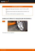 FORD TRANSIT Custom navodila za popravilo in vzdrževanje