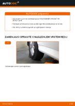 Kdaj zamenjati Šipka stabilizatorja MERCEDES-BENZ B-CLASS (W245): pdf navodila