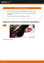 Avtomehanična priporočil za zamenjavo MERCEDES-BENZ Mercedes W245 B 200 CDI 2.0 (245.208) Vzmetenje