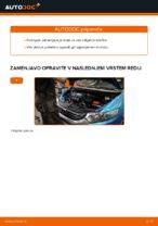 Avtomehanična priporočil za zamenjavo HONDA Honda Insight ZE2/ZE3 1.3 Hybrid (ZE2) Metlica brisalnika stekel