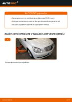 Brezplačna spletna navodila kako obnoviti Šipka stabilizatorja MERCEDES-BENZ B-CLASS (W245)
