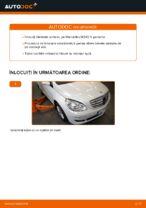 Montare Bieleta stabilizatoare MERCEDES-BENZ B-CLASS (W245) - tutoriale pas cu pas