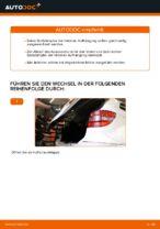Auswechseln Federbein MERCEDES-BENZ B-CLASS: PDF kostenlos
