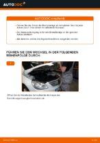 Bremsbeläge erneuern MERCEDES-BENZ B-CLASS: Werkstatthandbücher