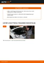 Skift Bremseklods MERCEDES-BENZ B-CLASS: pdf gratis