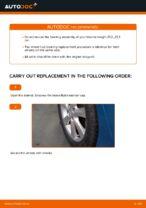 Changing Wheel Bearing HONDA INSIGHT: workshop manual