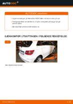 Mekanikerens anbefalinger om bytte av MERCEDES-BENZ Mercedes W245 B 200 CDI 2.0 (245.208) Kileribberem